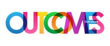 OUTCOMES Vector Icon