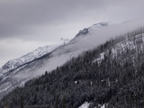 Winter in the Rocky Mountains, Canada - 152383329