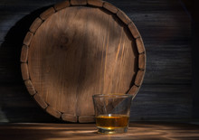 Whiskey On A Wooden