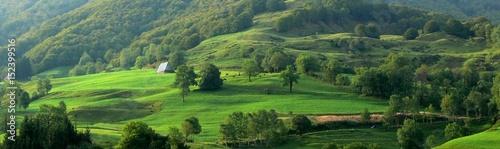Photo pays vert, le Cantal, Auvergne