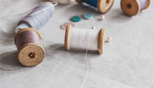 Sewing Kit. Thread, Needles An...