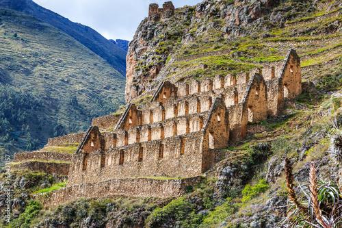 Fotografie, Obraz  Ollantaytambo, Peru
