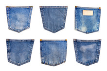 Collection Of Denim Blue Jeans...
