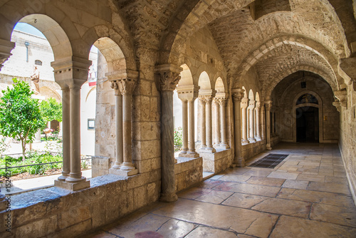 The Church of the Nativity is a basilica located in Bethlehem Poster Mural XXL