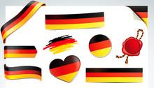 Banner Set - Deutschland Flagge