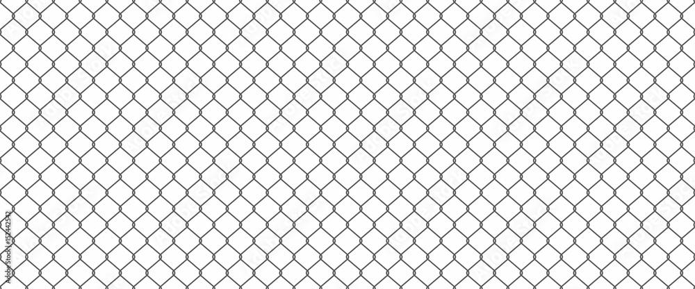 Fototapety, obrazy: Chainlink fence
