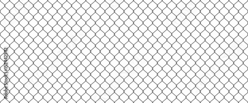 Fotomural Chainlink fence
