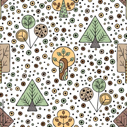 wektor-recznie-rysowane-bez-szwu-desen-dekoracyjne-stylizowane-drzew-dziecinnych-doodle-stylu-plemiennych-ilustracji-graficznych-ozdobne