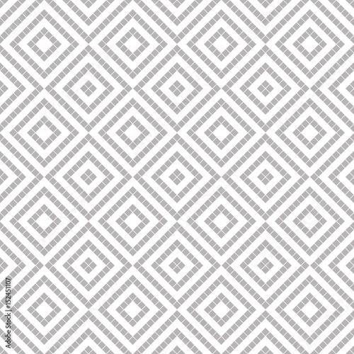 Seamless vector decorative geometric pattern Wallpaper Mural
