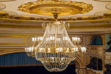 Chandelier In The Theater With...