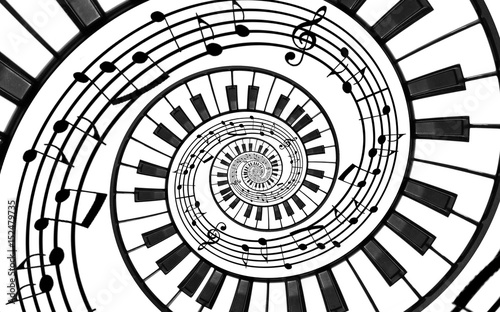 Black And White Spiral Piano Staircase Free Download Oasis Dl Co