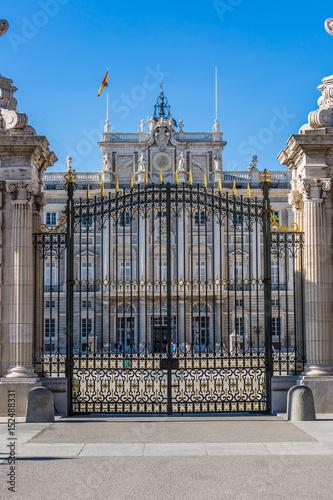 Photo  Palacio Real - Spanish Royal palace in Madrid