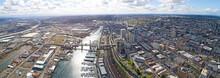 Tacoma, Washington Aerial Over...