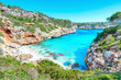 Mallorca Spanien Urlaub Strand mit Mittelmeer türkis Calo des Moro