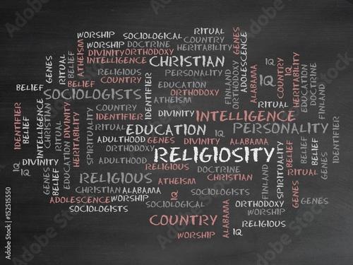 Valokuva  Religiosity