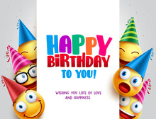 Happy Birthday Vector Design W...