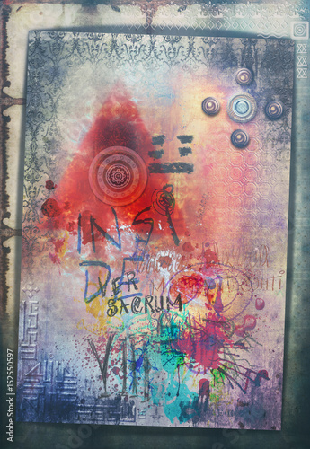Wall Murals Imagination Graffiti,sketches and spry art,murals background