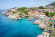 canvas print picture Dubrovnik old city