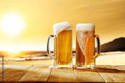 Obraz na dibondzie (fotoboard) piwo