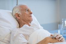 Senior Man Hospitalized