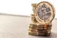 New British One Pound Sterling...