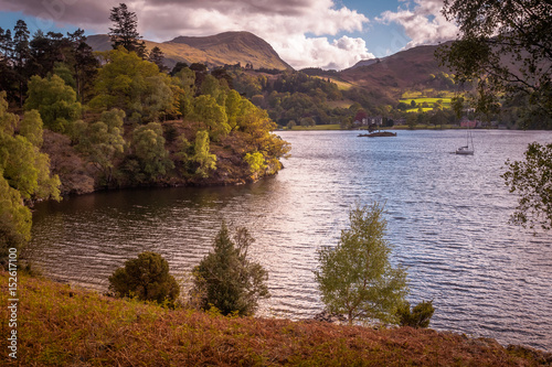 The Ullswater Way is a 20-mile walking route around Ullswater in the Lake  District startin g from Pooley Bridge - Buy this stock photo and explore  similar images at Adobe Stock |