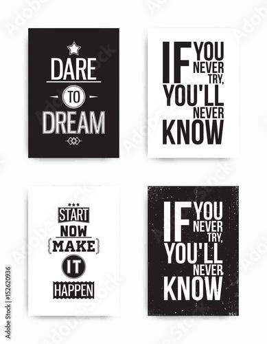 Fotografija  Set posters quote