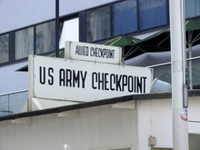 Allied Checkpoint Charlie Berlin