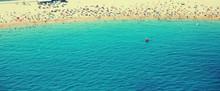 Beach In Barcelona Seaside