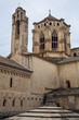 High walls of Poblet Monastery