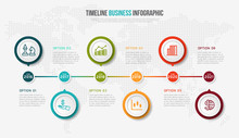 Vector Infographics Timeline D...