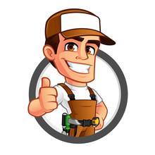 Friendly Carpenter, He Is Dres...
