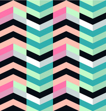 Summer Pattern Background, Fresh, Colorful And Super Bright. Colors Shades: Pink, Orange, Fuchsia, Green, Aquamarine, Light Blue, Black, White, Liliac.