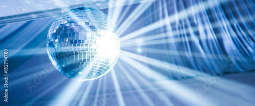 Obraz na plátně disco ball