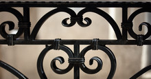 Wrought Iron Railings And Hand...