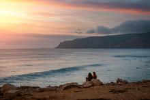 Sunset At Guincho Beach
