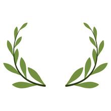 Wreath Decorative Ornament Icon Vector Illustration Graphic Design