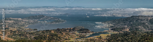 Photographie Bay Area Panorama from Mount Tamalpais