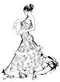 Hiszpańska tancerka flamenco - 152939560
