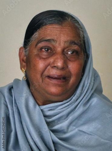 Naseem Akhtar, mother of Pakistani cricketer Mohammad Amir