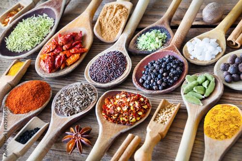 Papel de parede Gewürze - Spices