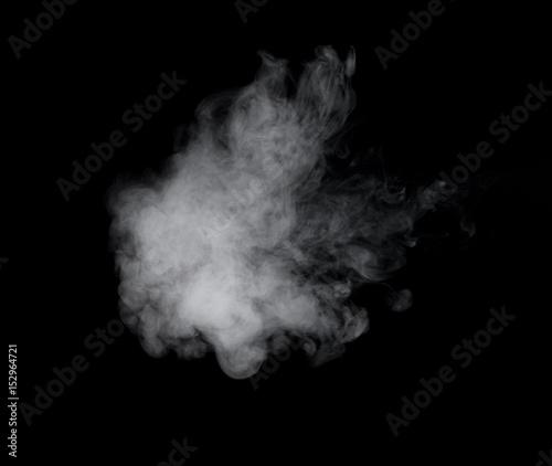 Poster Fumee Photo of white smoke
