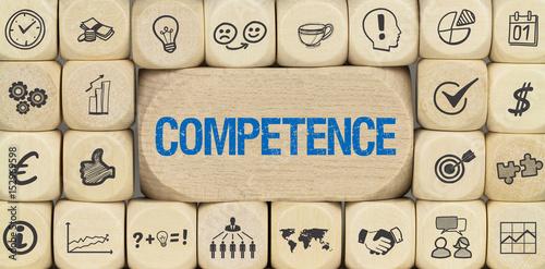 Competence / Würfel mit Symbole