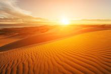 Picturesque Desert Landscape W...