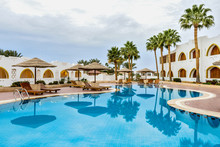 """Evening Entertainment, Entertainment Program For Tourists, The Hotel """"Domina Coral Bay""""."""