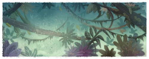 Fotografía  ilustracion de selva