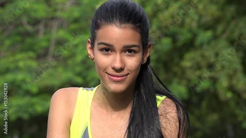 Teen model latina