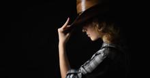 Beautiful Girl In A Cowboy's H...