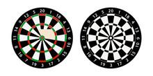 Darts Board Target