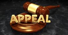 Appeal Law Concept 3D Illustration